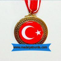 türk bayraklı madalya