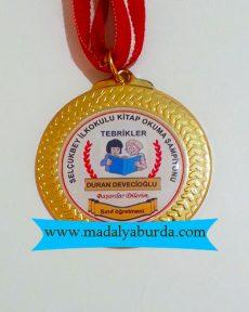 okuma madalya örneği