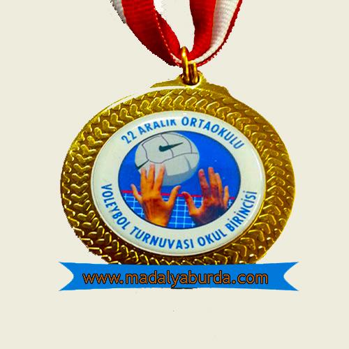 voleybol madalyası