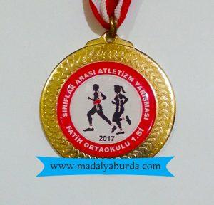 koşu-madalyası