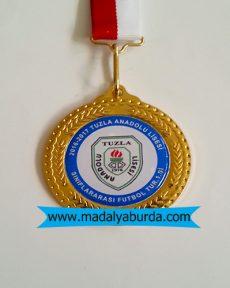 futbol turnuvası madalyası
