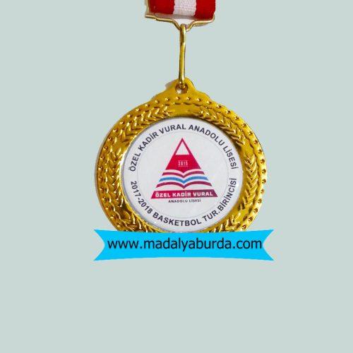 basketbol turnuva madalya