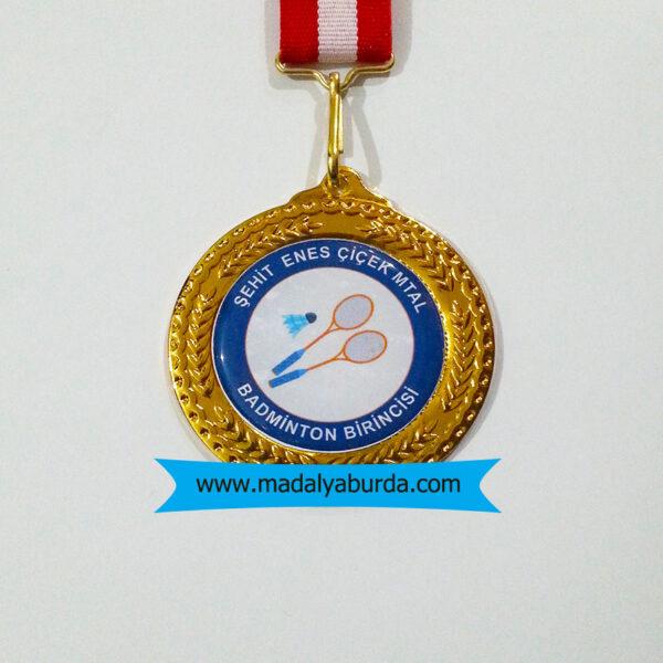 badminton-turnuva-madalyası