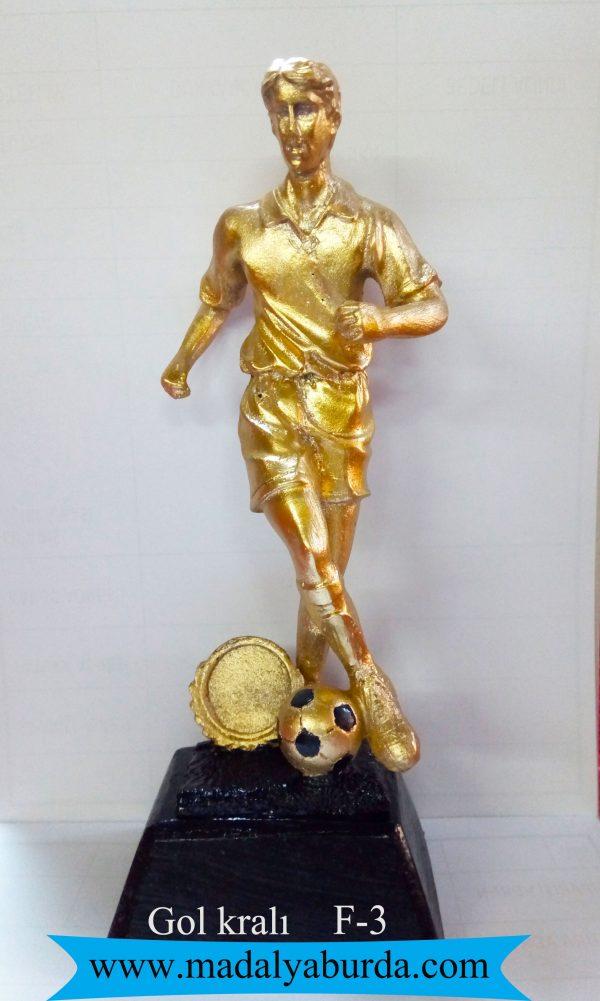 gol kralı figürlü kupa