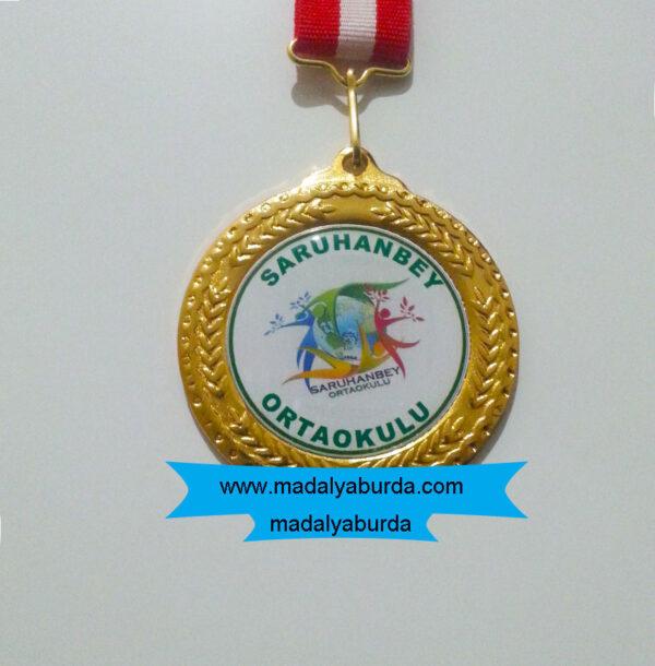 okul-logolu-madalya
